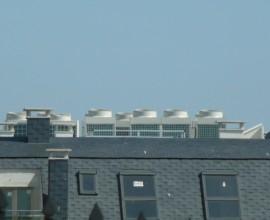 Edificio centralizado con bomba de calor