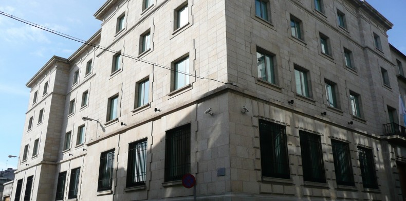 Ministerio Hacienda Lugo, antiguo Banco España